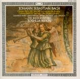 BACH - Rifkin - Wachet auf, ruft uns die Stimme, cantate pour solistes