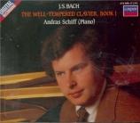 BACH - Schiff - Le clavier bien tempéré, Livre 1 BWV 846-869