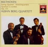 BEETHOVEN - Alban Berg Quar - Quatuor à cordes n°14 op.131