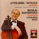 DUTILLEUX - Rostropovich - Concerto pour violoncelle et orchestre 'Tout