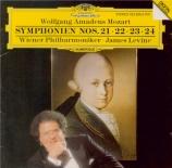 MOZART - Levine - Symphonie n°21 en la majeur K.134