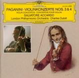 PAGANINI - Accardo - Concerto pour violon n°3 en mi majeur MS.50