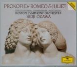 PROKOFIEV - Ozawa - Roméo et Juliette, ballet en 4 actes avec prologue