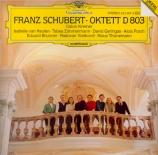 SCHUBERT - Kremer - Octuor en fa majeur pour cordes et vents op.posth.16