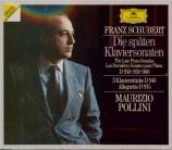 Les dernières sonates pour piano