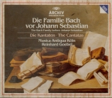 Die familie Bach vor Johann Sebastian