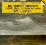 BEETHOVEN - Gilels - Sonate pour piano n°15 op.28 'Pastorale'