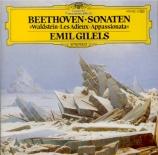 BEETHOVEN - Gilels - Sonate pour piano n°21 op.53 'Waldstein'
