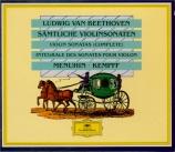 BEETHOVEN - Kempff - Sonate pour violon et piano n°9 op.47