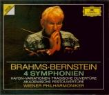 BRAHMS - Bernstein - Symphonies (intégrale)