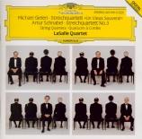 SCHNABEL - LaSalle Quartet - Quatuor à cordes n°3