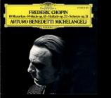 CHOPIN - Michelangeli - Prélude pour piano en do dièse mineur op.45