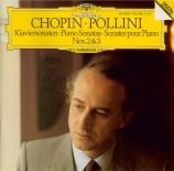 CHOPIN - Pollini - Sonate pour piano n°2 en si bémol mineur op.35