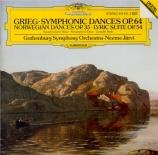 GRIEG - Järvi - Danses norvégiennes op.35