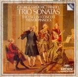 HAENDEL - Pinnock - Sonate en trio, pour deux violons avec basse continu