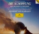 HAYDN - Karajan - Die Schöpfung (La création), oratorio pour solistes, c