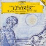 STRAUSS - Fassbaender - Liebeshymnus, pour voix et piano op.32 n°3