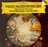MAHLER - Giulini - Das Lied von der Erde (Le chant de la terre), pour té