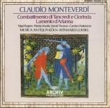 MONTEVERDI - Goebel - Lamento d'Arianna a 5, à deux choeurs et basse con