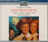 WEBER - Matacic - Freischütz (Der)