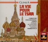 GLINKA - Markevitch - Ivan Susanin (La vie pour le Tsar)