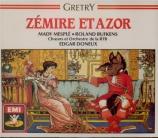 GRETRY - Doneux - Zémire et Azor