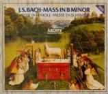 BACH - Gardiner - Messe en si mineur, pour solistes, choeur et orchestre