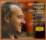 BEETHOVEN - Pollini - Concerto pour piano n°1 en ut majeur op.15