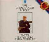 BRAHMS - Gould - Klavierstück (intermezzo), pour piano en la majeur op.7