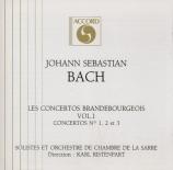 BACH - Ristenpart - Concerto brandebourgeois n°1 pour orchestre en fa ma