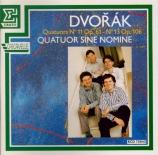 DVORAK - Sine Nomine Qua - Quatuor à cordes n°11 en do majeur op.61 B.12