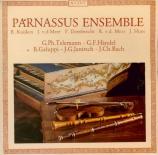 Musica da camera Telemann, Haendel, Janitsch, JC Bach, Galuppi