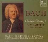 BACH - Badura-Skoda - Partitas pour clavier BWV 825-830