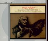 BRAHMS - Walter - Symphonie n°4 pour orchestre en mi mineur op.98 SACD seulement