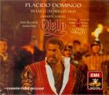 VERDI - Domingo - Otello, opéra en quatre actes