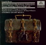 MOZART - Ensemble Eduard - Divertimento en ré majeur 'Die Bauernhochzeit