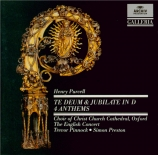 PURCELL - Preston - Te Deum and Jubilate Deo in D major, morning service