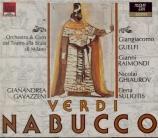 VERDI - Gavazzeni - Nabucco, opéra en quatre actes (Live Milano 1966) Live Milano 1966