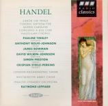 HAENDEL - Leppard - Zadok the priest, anthem HWV.258 (Coronation anthem