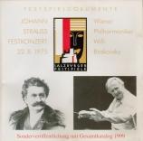 Johann Strauss Festkonzert 20/8/75