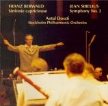 BERWALD - Dorati - Symphonie n°2 'Capricieuse'