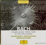 BACH - Mintz - Sonates et partitas pour violon seul BWV 1001-1006