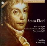 EBERL - Playel-Trio St - Sonate (trio) op.10 n°1