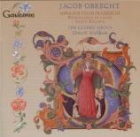 OBRECHT - Wickham - Missa 'Sub tuum presidium'