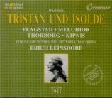 WAGNER - Leinsdorf - Tristan und Isolde (Tristan et Isolde) WWV.90 live MET 1941