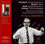 SCHUBERT - Sawallisch - Symphonie n°3 en ré majeur D.200 Live Salzburg 8 - 8 - 1973