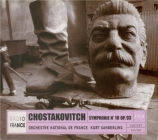 CHOSTAKOVITCH - Sanderling - Symphonie n°10 op.93
