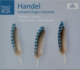 HAENDEL - Preston - Six concertos pour orgue op.7 HWV.306-311