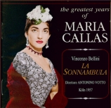 BELLINI - Votto - La sonnambula (La somnambule) (Live Köln, 4 - 7 - 1957) Live Köln, 4 - 7 - 1957