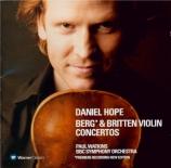 """BERG - Hope - Concerto pour violon 'Dem Andenken eines Engels"""" (A la mém"""